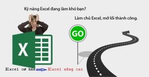 khoá học Excel nâng cao - excel 2010  - tin học văn phòng